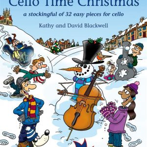 Cello Time Christmas Book & CD