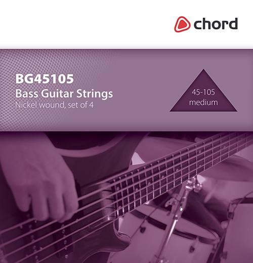 Chord Bass Guitar Strings 45-105 - Trax Music Store