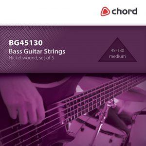 Chord Bass Guitar Strings | 5 String (45-130)