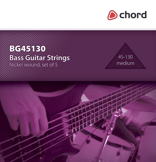 Chord Bass Guitar Strings | 5 String (45-130) - Trax Music Store