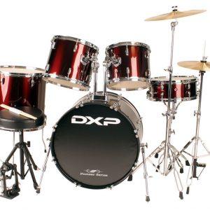 DXP P525T Star 5 Piece Drum Kit Wine Red