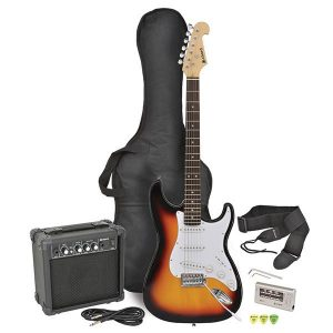 Chord CAL63PK Electric Guitar Package Sunburst
