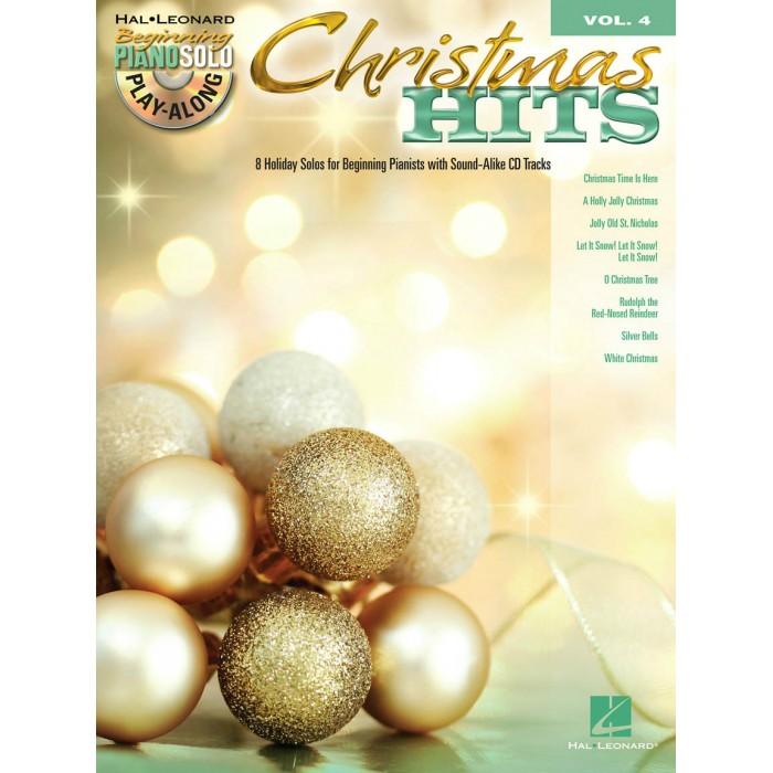 Beginning Piano Solo Play Along Volume 4 Christmas Hits