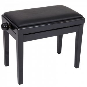 Kinsman Adjustable Piano Bench - Black