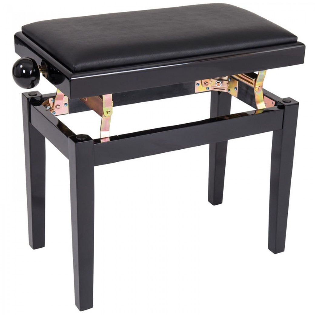 Kinsman Adjustable Piano Bench Black Trax Music Store