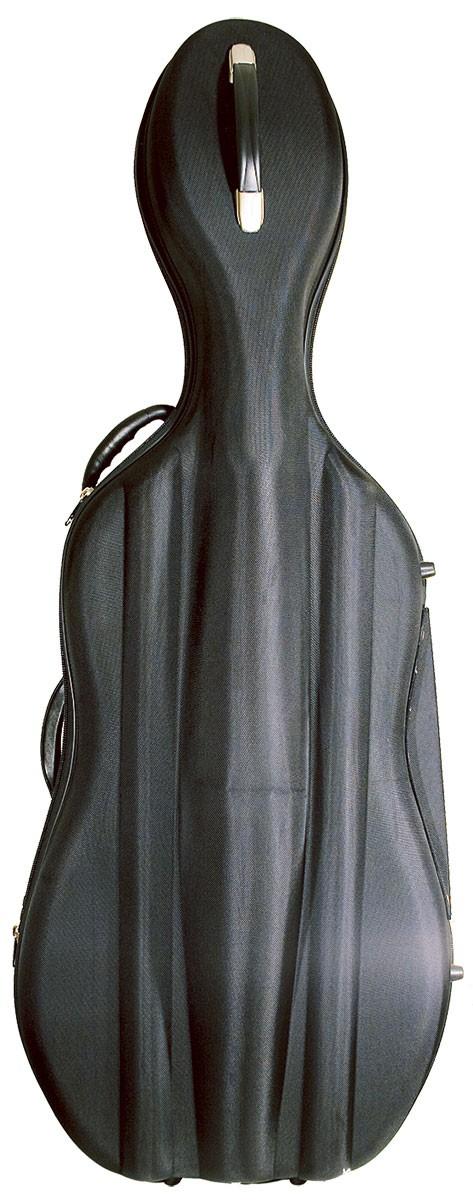 Hidersine Black Cello Case