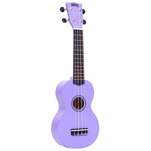 Mahalo Rainbow Soprano Ukulele with FREE bag Purple