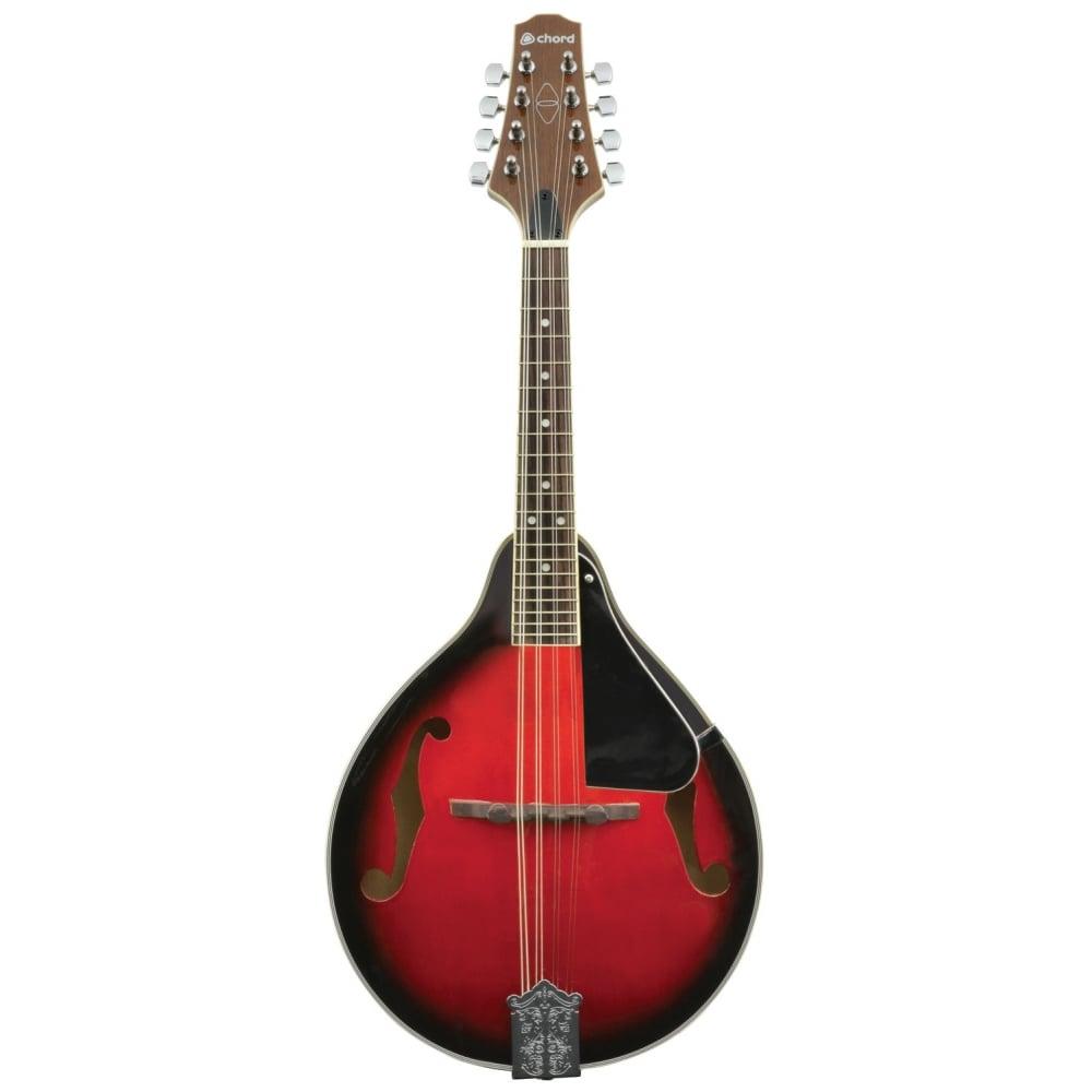Chord CTM28 Traditional Mandolin - Redburst