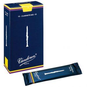 Vandoren Classic Blue 1.5 Bb Clarinet reed