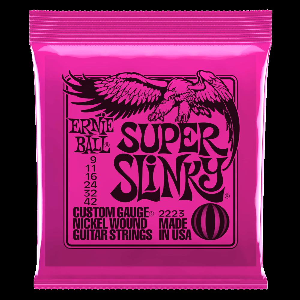 Ernie Ball Super Slinky Electric Guitar Strings 9-46
