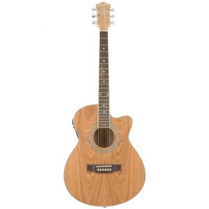 Chord N5PA Native Series Electro Acoustic Guitar, Piebald Ash