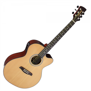 Brunswick BTK50NA Electro Acoustic Guitar, Natural