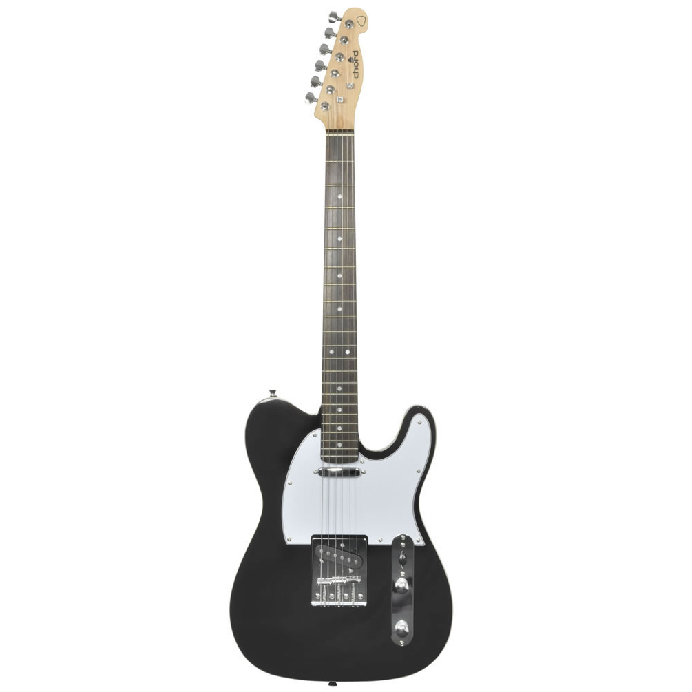 Chord CAL62 Telecaster Electric Guitar Black
