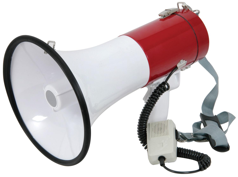 Adastra 30 Watt Megaphone with Siren