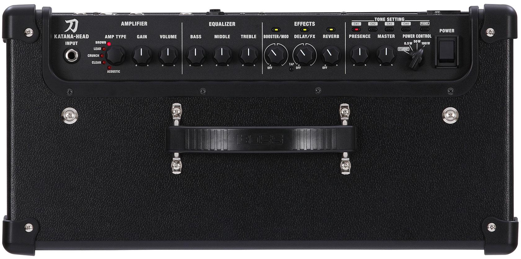 Boss Katana 100 Watt Amplifier Head Trax Music Store High Quality Power