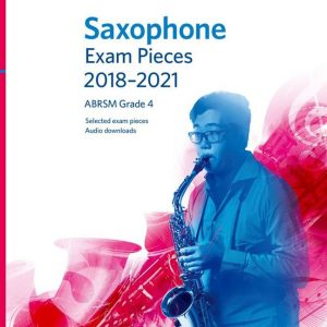 Contemporary Musical Instruments & Gear Saxophone Exam Pieces 2018-2021 Abrsm Grade 5 Sheet Music Book With Audio