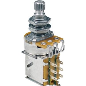 Alpha PP-250-B Ultra 250K Linear (Tone) Push-Pull Potentiometer