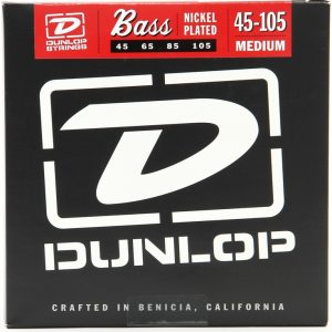Dunlop DBN45105 Medium Bass Strings