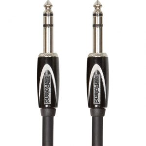 Roland Black Series Straight TRS Cable 10ft/3m