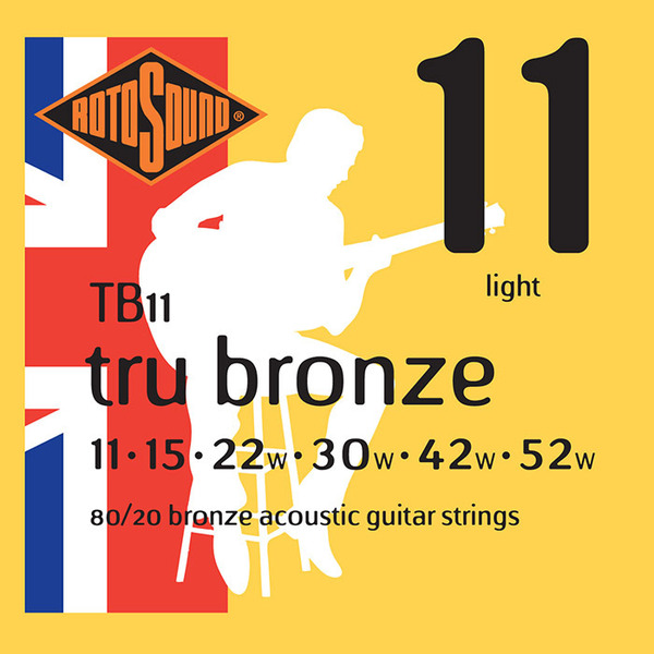 Rotosound TB11 Acoustic Guitar Strings 11-52