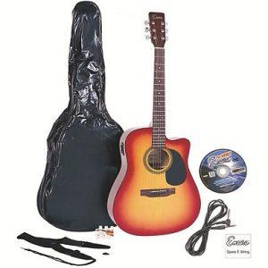Encore ENC165 Electro Acoustic Guitar Sunburst