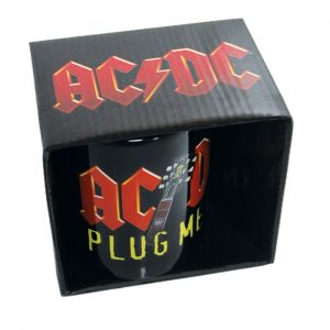 AC/DC Boxed Mug Plug Me In