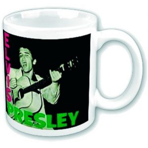 Elvis Presley Boxed Mug Album