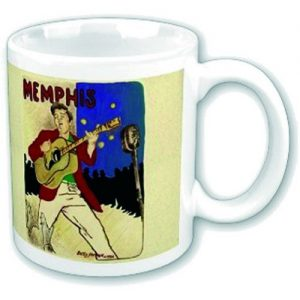 Elvis Presley Boxed Mug Memphis