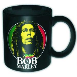 Bob Marley Boxed Mug Logo Face