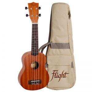 Flight NUS310 Soprano Ukulele w/GigBag