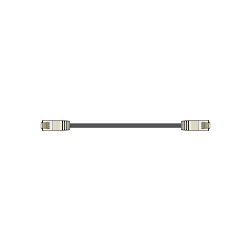 AV:Link Economy U/UTP RJ45 Network Patch Leads Black | 5 Metre