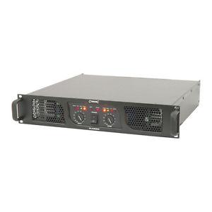 Citronic PLX2800 Power Amplifier 2 x 1050W @ 4 Ohms