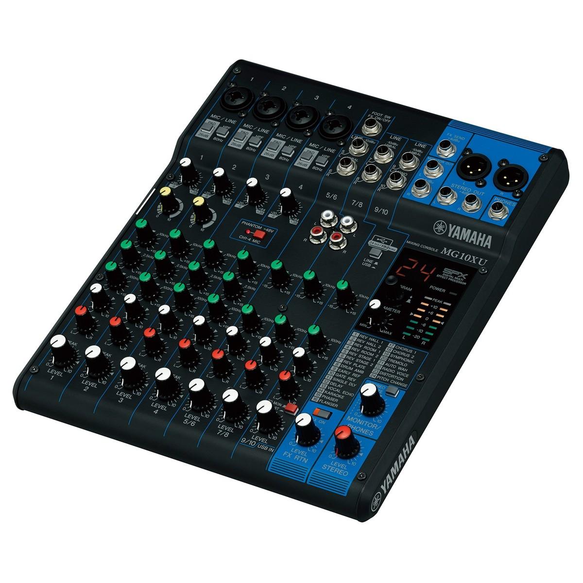 Yamaha MG10XU Analog USB Mixer
