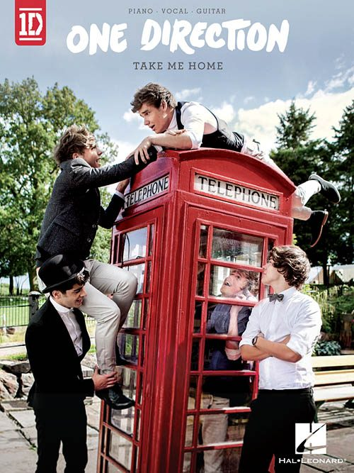 One Direction Take Me Home - Piano/Vocal/Guitar