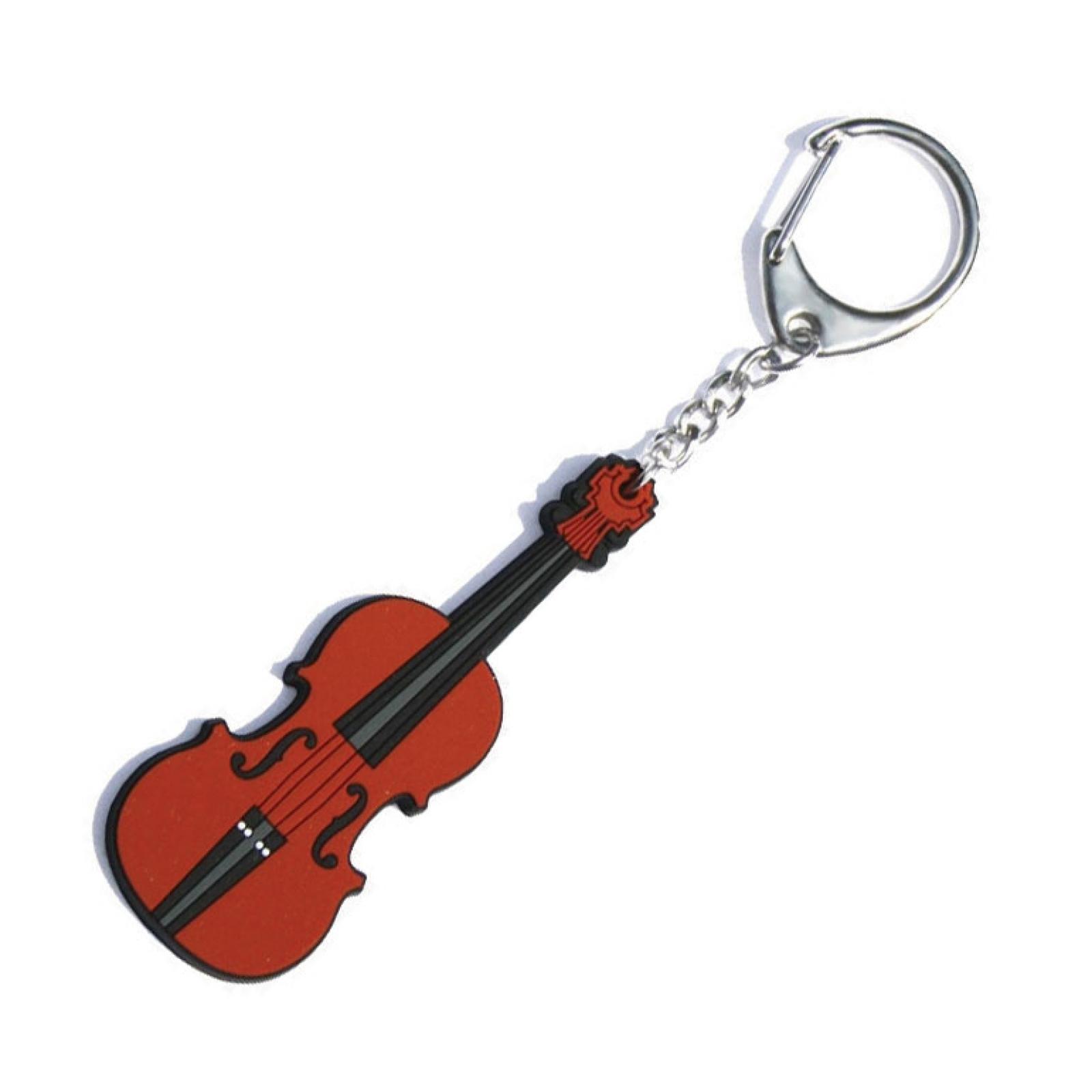 Hot House PVC Violin Keyring