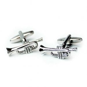 Cufflinks Trumpet Design