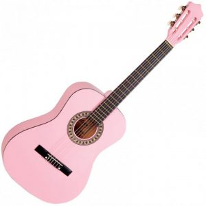 Falcon FL34 3/4 Size Classical Guitar, Pink