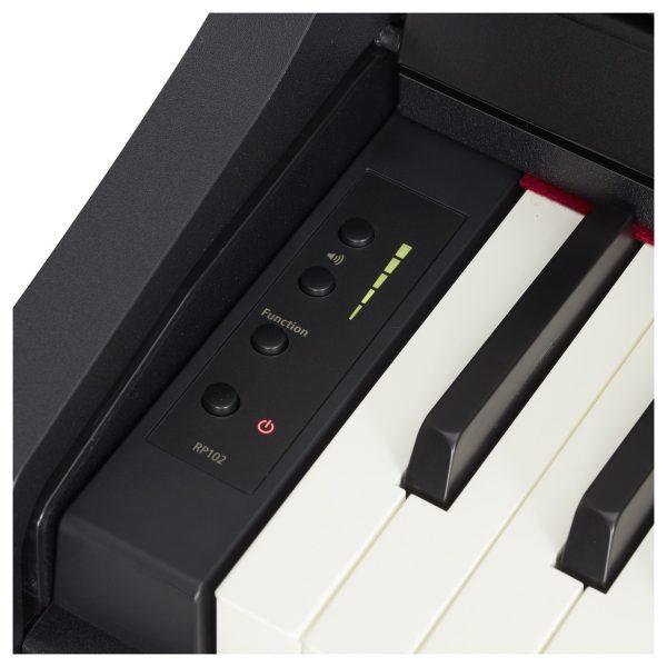 Roland RP-102 Digital Piano - Contemporary Black