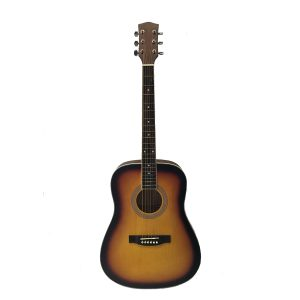 Dreadnought Acoustic Guitar by Trax Sunburst