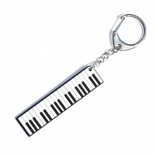 Hot House PVC Piano Keyring