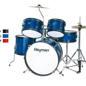 Hayman Junior Series 5-piece Drum Kit - Blue