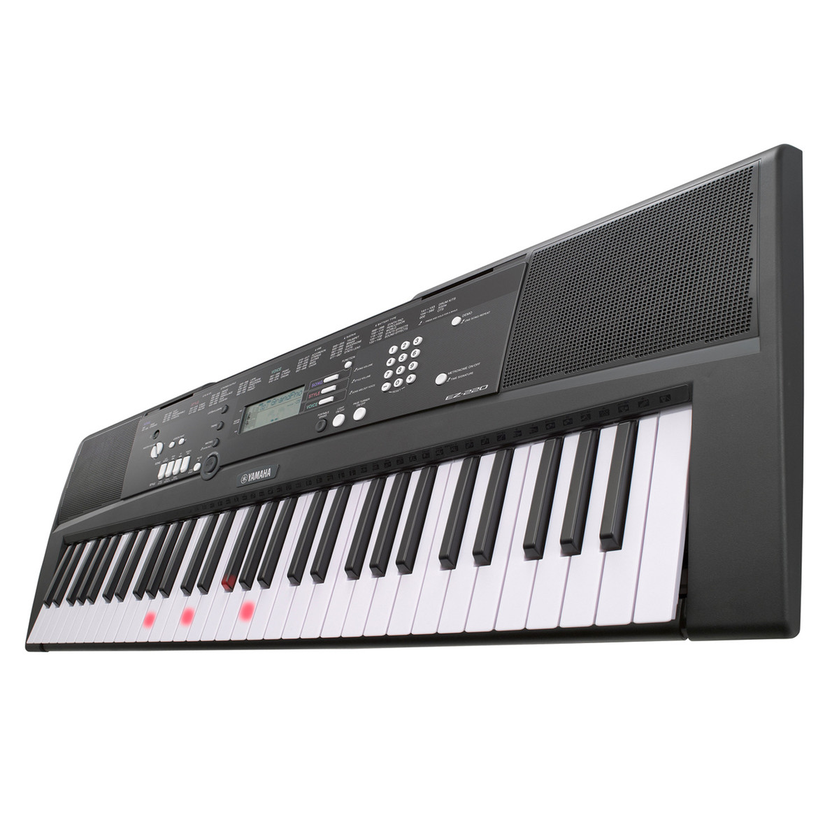 yamaha ez 220 keylighting home keyboard trax music store. Black Bedroom Furniture Sets. Home Design Ideas