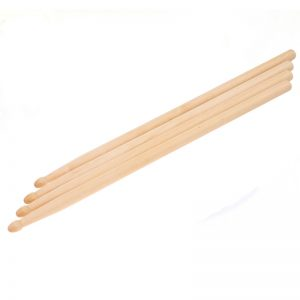 5A Wood Tip Drumsticks - 3 Pair