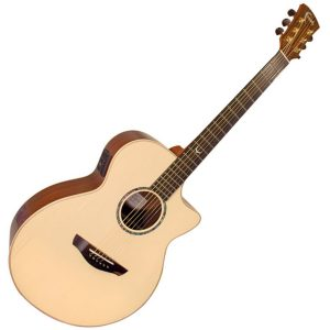 Faith Venus FVHG-HEX Cutaway Electro Acoustic Guitar w/ L4020 HEX