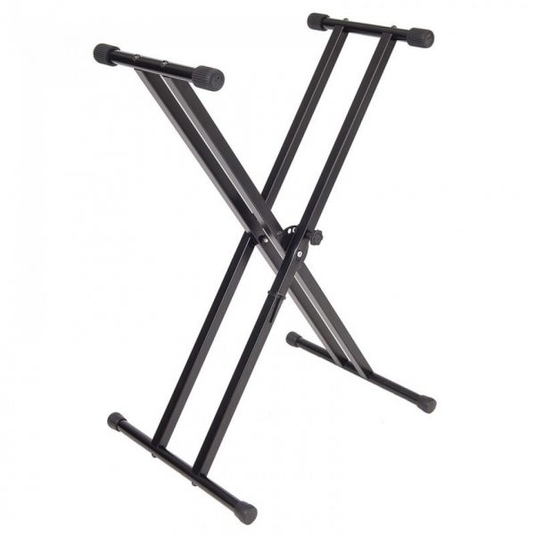 Kinsman KSS07 Double Braced Keyboard Stand