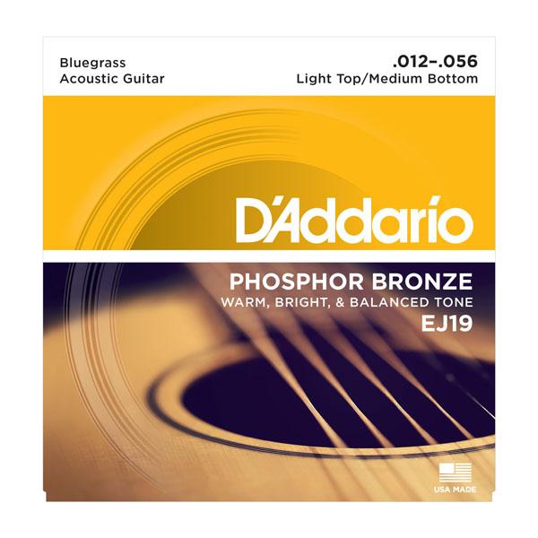 Daddario EJ19 Roundwound Strings Bluegrass