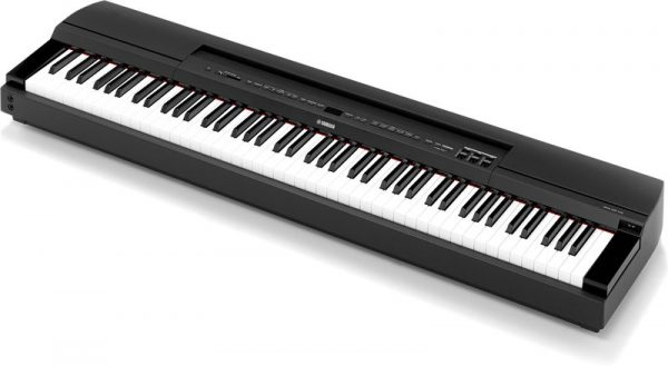 Yamaha P255 Lightweight Digital Piano Black