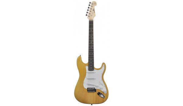 Chord CAL63 Stratocaster Electric Guitar Amber