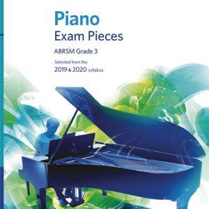 ABRSM Piano Exam Pieces 2019/2020 Grade 3 Book/CD