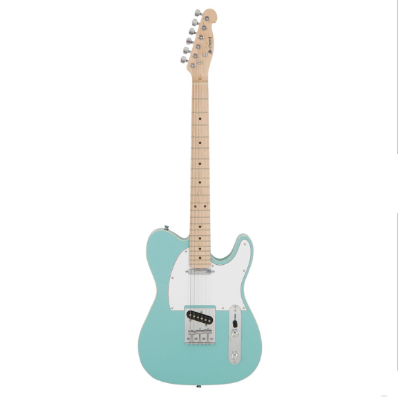 chord cal62 telecaster electric guitar surf blue. Black Bedroom Furniture Sets. Home Design Ideas